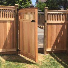 Custom Cedar Gates BC