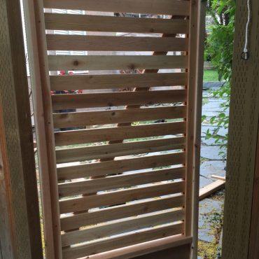 Custom Cedar Gates