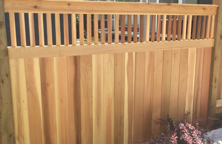 Custom Cedar Fences