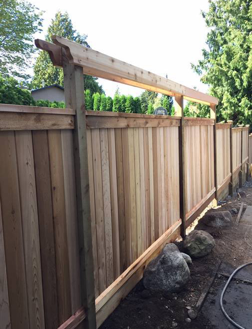 Custom Fence Installation in Surrey BC
