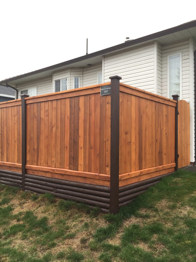 Custom Fence in Burnaby BC